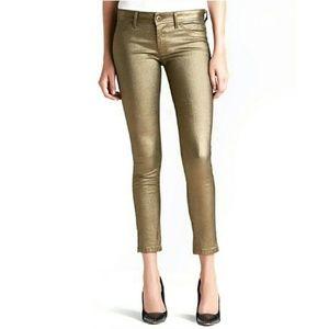 DL1961 Emma super slim metallic legging jeans, 31